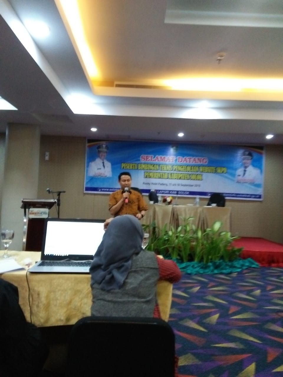 Kominfo Kabupaten Solok Gelar Bimtek Website