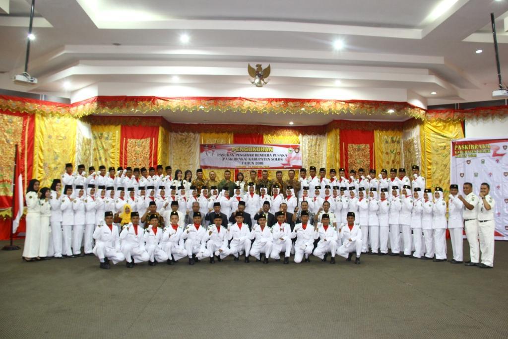 Paskibraka Kabupaten Solok - (Ada 1 foto)